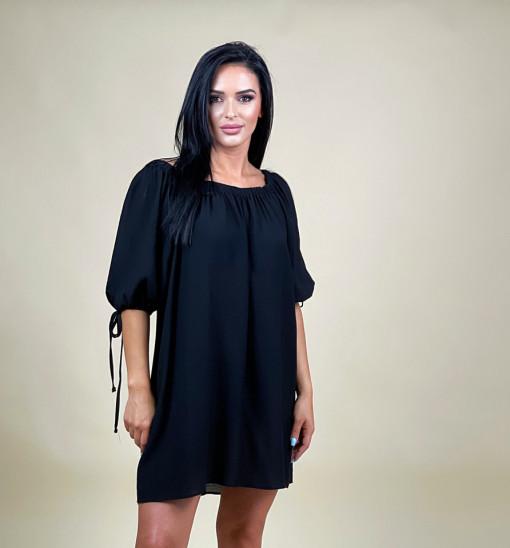 Rochie Linen Black