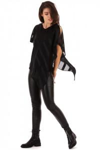Bluza Poncho Black