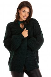 Cardigan Dark Green