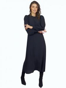 Rochie Shirring Black