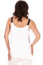 Top Assymetric White