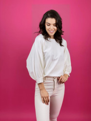 Bluza Butterfly White
