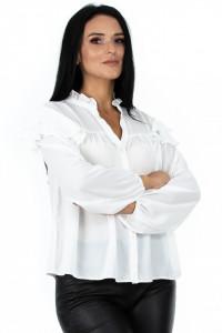 Bluza Madame Baronesse White