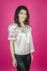 Bluza Pearl Shirring