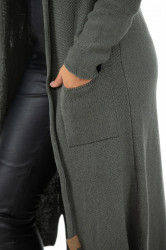 Cardigan Long Dark Grey