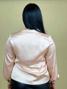 Bluza Satin Pale Pink+