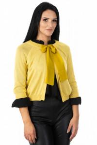 Jacheta Organza Yellow