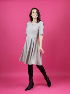 Little Beige Dress