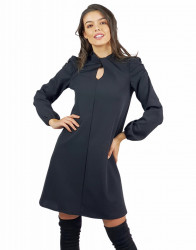 Rochie Fronse Black
