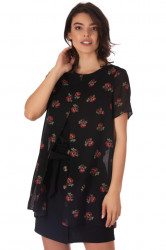 Bluza Split Black
