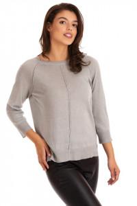 Pulover Grey Linen