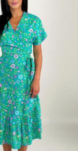 Rochie Wrap Green