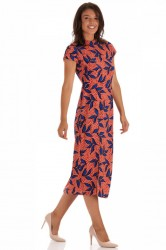 Rochie Orange Flowers