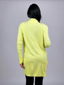 Cardigan Pocket Yellow
