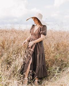 Rochie Brown July