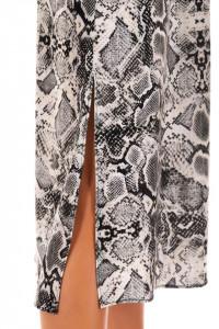 Rochie Snake Print