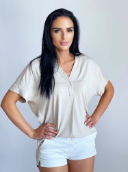 Camasa Relaxed Beige