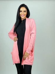 Cardigan Pocket Pink