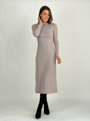 Rochie Long Taupe