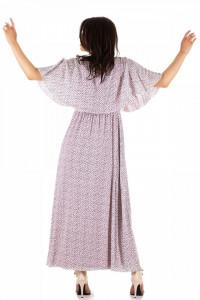 Rochie lunga cu petrecut la corset
