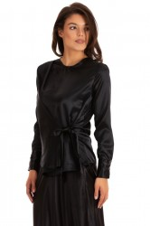 Bluza Black Satin