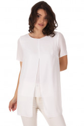 Bluza Split White