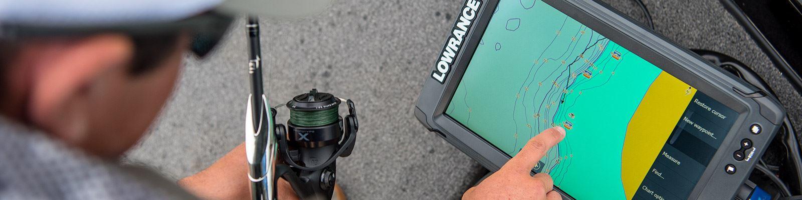 Touchscreen Lowrance Elite 7 Ti2