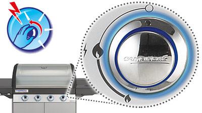 Gratar pe gaz Campingaz Master 3 Clasic INT - 2000030696