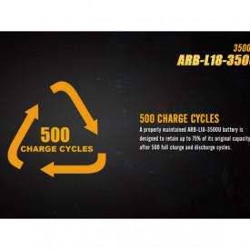 Acumulator 18650 - 3500mAh cu Micro USB - ARB-L 18-3500U 7