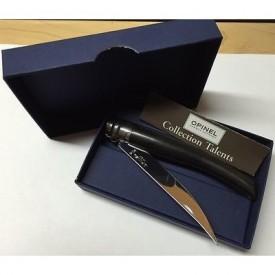 Briceag Opinel Nr.10 Slim Inox Abanos, lama 10cm - 001708