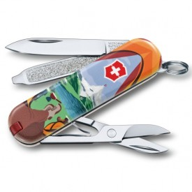 Briceag Victorinox Classic Call of Switzerland - 0.6223.L1802 - Limited Edition 2018