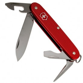 Briceag Victorinox Pioneer Alox, Berry Red - 0.8201.L18 - Limited Edition 2018