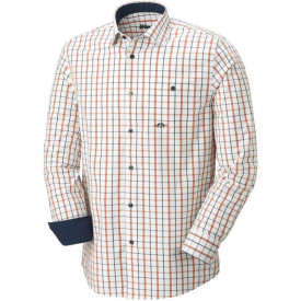Camasa Blaser Oxford Modern Fit Navy Orange