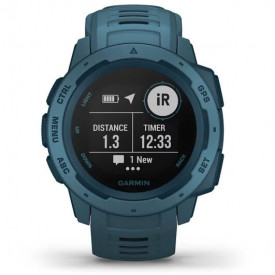 Ceas Garmin Instinct GPS Lakeside Blue - HG.010.02064.04 timer