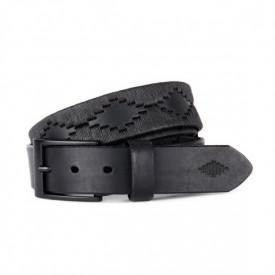 Curea Polo din piele Pampeano Black Label 100cm