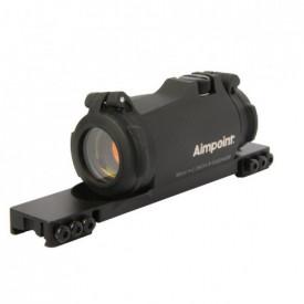 Dispozitiv ochire red dot rosu Aimpoint Micro H2 2 MOA cu montura Tikka