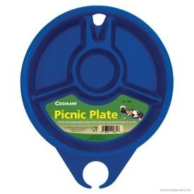 Farfurie pentru picnic din plastic dur Coghlans
