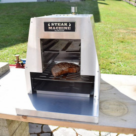 Gratar pe gaz cu arzator infrarosu Activa Steak Machine - 12900A frontal