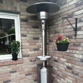 Incalzitor de terasa din inox comercial Brolly High End 13 Kw masa cu LED Activa 13950 7