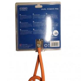 Kit regulator gaz pentru cartuse cu insurubare Dual Power Pak Cadac - 346-10-EU 3