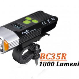 Lanterna bicicleta de ghidon Fenix BC35R Reincarcabila 1800 Lumeni 146 Metri