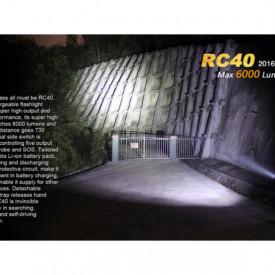 Lanterna Fenix RC40 - 6000 Lumeni - 730 Metri - Editie 2016 2