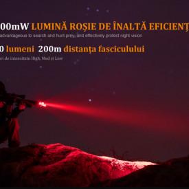 Lanterna Fenix TK25 - Versiune Red - 1000 Lumeni 225 Metri 2