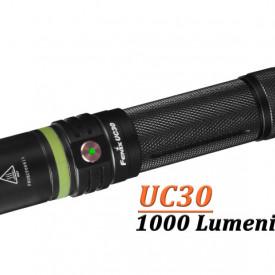 Lanterna Fenix UC30 -  Reincarcabila - Ediție 2017 - 1000 lumeni - 253 metri