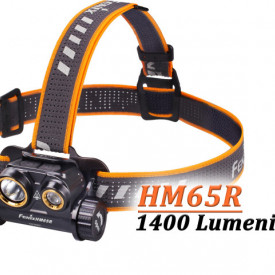 Lanterna frontala Fenix HM65R Reincarcabila 1400lumeni 163 metri