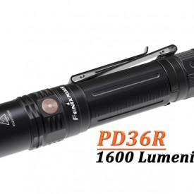 Lanterna Tactica Reincarcabila Fenix PD36R 1600 Lumeni 283 Metri