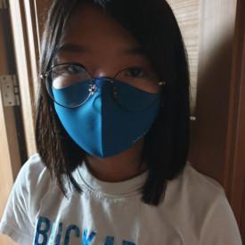 Masca textila reutilizabila cu tratament antiviral Classic Blue M 3