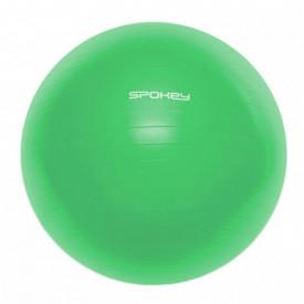 Minge fitness Spokey Fitball III, 65 cm, verde, cu pompa inclusa - OUTMA.928897