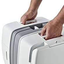Toaleta portabila Enders Supreme 22 litri manere