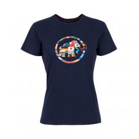 Tricou Mammut Nations Woman SS21 - Peacot